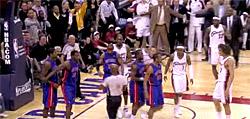 Les Pistons se rebellent