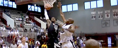 John Wall posterize Jerry Stackhouse