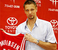 David Andersen veut retourner en NBA