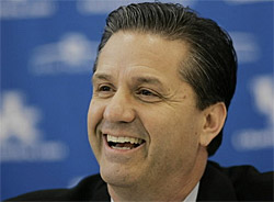 John Calipari entre au Hall of Fame