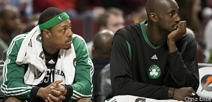 Boston Celtics : Avenir incertain pour Kevin Garnett et Paul Pierce
