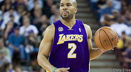 Les Lakers étudieraient la possibilité d'un retour de Derek Fisher