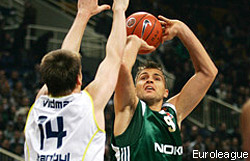 L'ASVEL coupe Zizic
