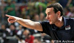 Coach K offusqué par les propos de Jalen Rose