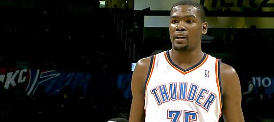 Milwaukee surprend le Thunder, Kevin Durant scoreur en chef