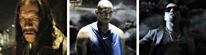 Kobe , Kanye West et Robert Rodriguez