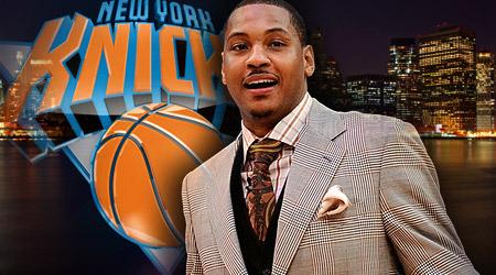 Carmelo débarque à New York !