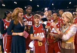 Justin Bieber, MVP du match des célébrités