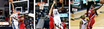 Concours de dunks entre les Hawks et les Wiz