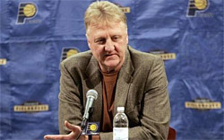 Larry Bird n'ira pas aux Sacramento Kings