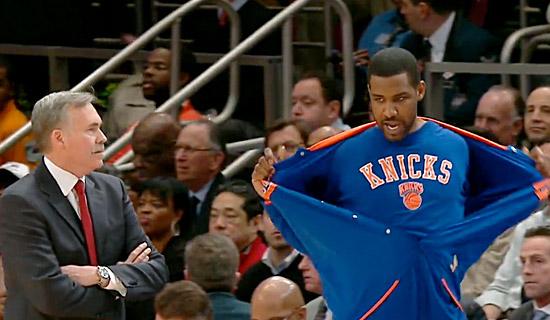 Les Knicks ne veulent pas de Shawne Williams