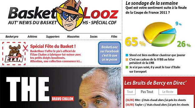 Basket Looz spécial Coupe de France