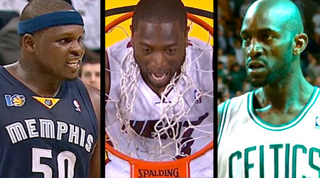 Diaporama des playoffs : Z-Bo, LeBron, Durant and co