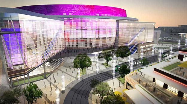 La Sacramento Arena prend forme