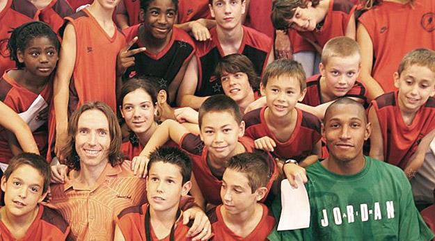 Boris Diaw renouvelle son camp Kameet Basketball