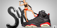 Les Air Jordan en mode sexy