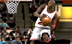Jordan, Bird et Magic en action dans NBA 2K12