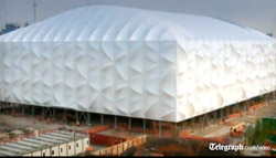 Le stade de basket des JO de Londres en images