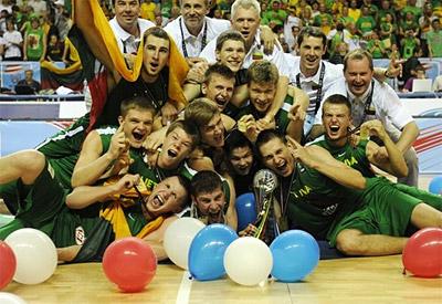 U19 : La Lituanie sur le toit du monde