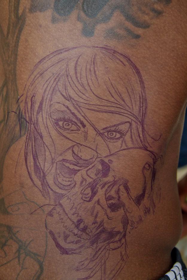 Chris Bosh la joue éclectique niveau tatouages