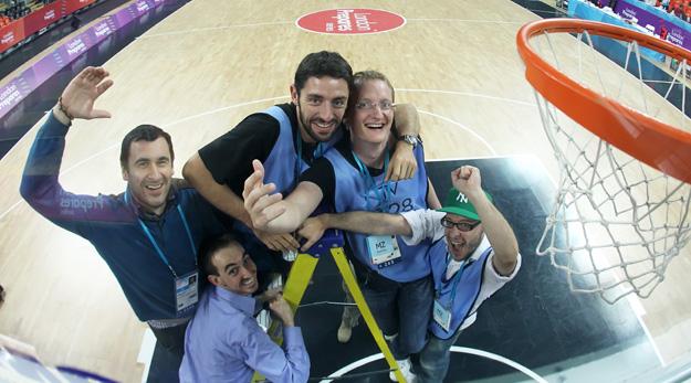 La team Poitiers au service de la FIBA