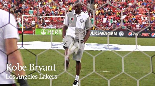 Quand les joueurs NBA se mettent au soccer
