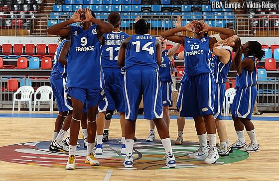 Euro U18 : Les Bleues en finale !