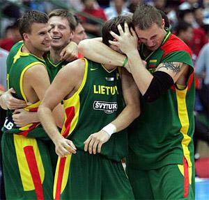 La Lituanie impeccable face à la Pologne