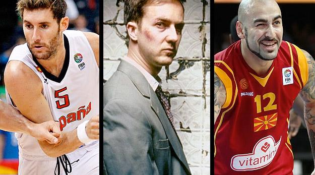 Les trophées : Rudy, Juanca, Pero