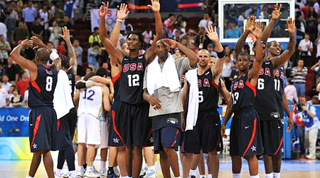 Team USA 2012 aussi forte que la Dream Team de 1992 ?