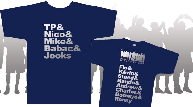 T-Shirts équipe de France exclusifs