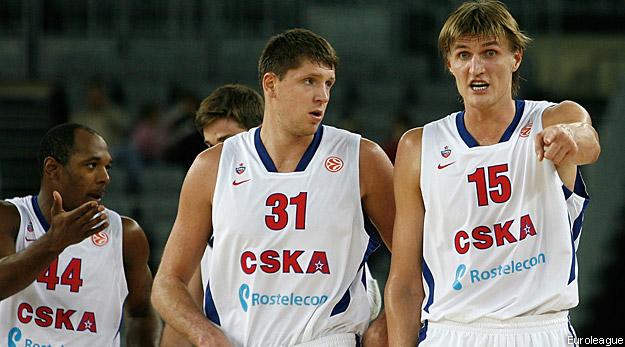 LE CSKA et Sienne sans pitié