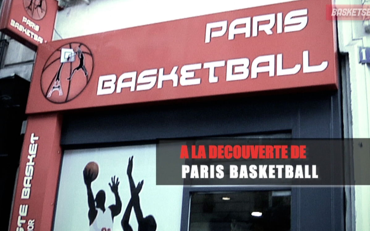 ouverture d 39 un store 100 basket paris le meilleur de la nba news. Black Bedroom Furniture Sets. Home Design Ideas