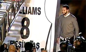 Besiktas retire le maillot de Deron Williams