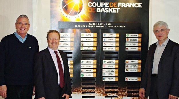 3 face à face de Pro A en 16èmes de Coupe de France