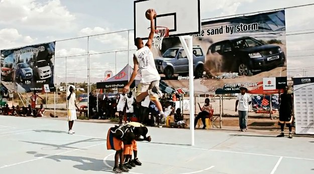 Le 1er concours de dunk et tournoi de 3x3 de Namibie !