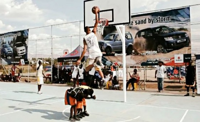 Le 1er concours de dunk et tournoi de 3×3 de Namibie !