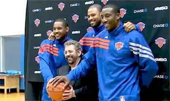 "Tyson Chandler : ""Les gens à New York comprennent le basketball"""