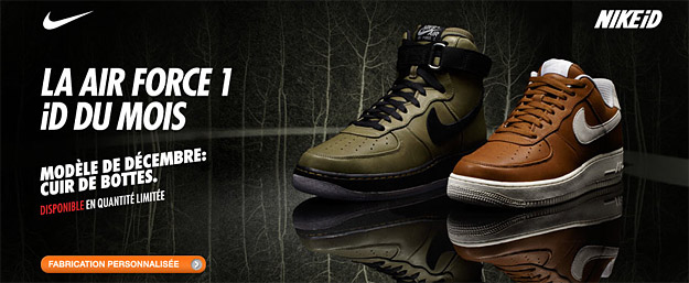 best website 32447 de9d6 ... Customisez vos Air Force 1 sur Nike iD