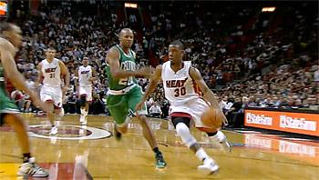 Miami trop fort pour Boston, Norris Cole explose