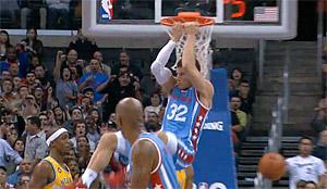 Blake Griffin absent du concours de dunk