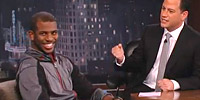 Quand Jimmy Kimmel chambre Chris Paul sur les Clippers