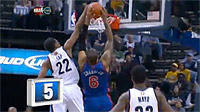 Top 10 : Rudy Gay lâche le contre de la nuit sur Chandler
