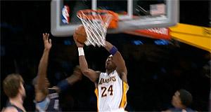 Top 10 : Kobe retrouve ses jambes de 20 ans