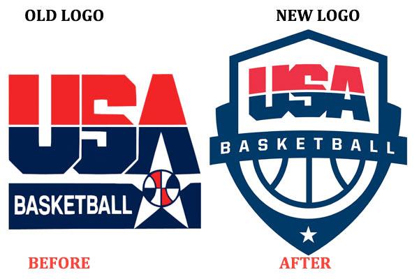 Le nouveau logo d'USA Basketball