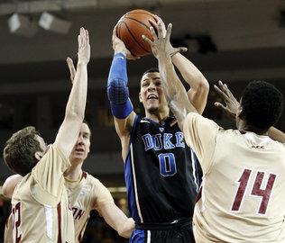 Duke se relance face à BC et retrouve le Top 5