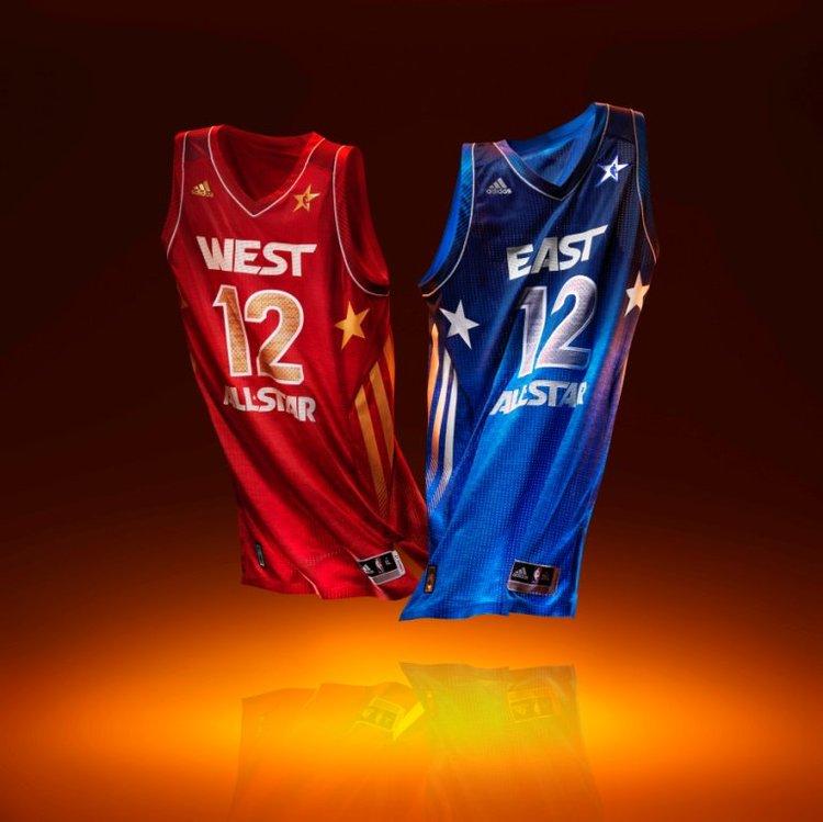 Les maillots du All-star Game 2012 révélés