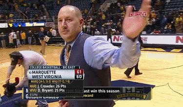 L'entraineur de Marquette University est un troll