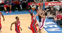 Top 10 : Landry Fields lâche un méchant poster sur Humphries