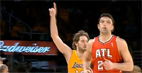 Kobe à la rue, Gasol et Bynum font la différence contre Atlanta